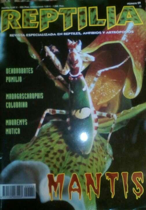 Imagen Revista Reptilia N°29 Mantis