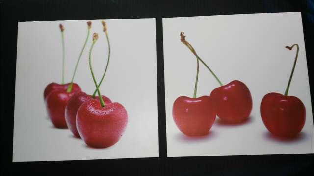 Imagen 2 Cuadros de Cerezas preciosos