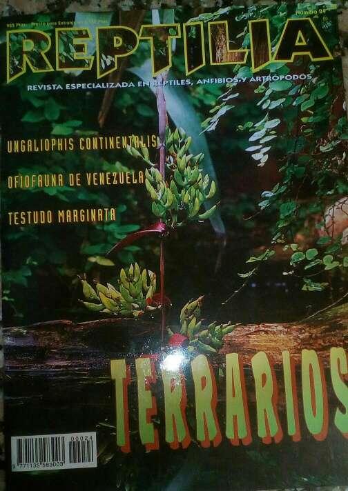 Imagen producto Revista Reptilia reptiles N. 24 Terrarios 1