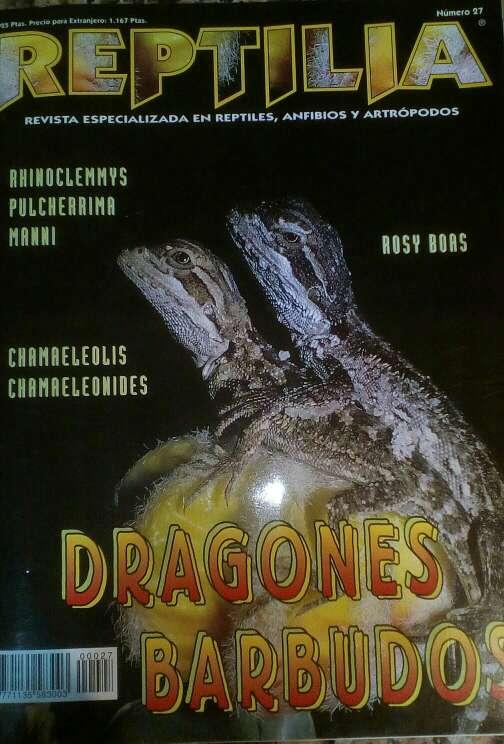 Imagen Revista Reptilia reptiles N° 27 Dragones Barbudos