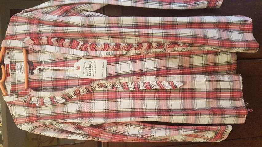 Imagen producto Camisa blusa marca Guru Talla L 42-44 4