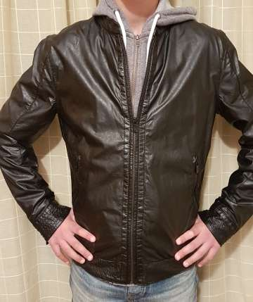 Imagen cazadora chaqueta Biker Chico Talla M