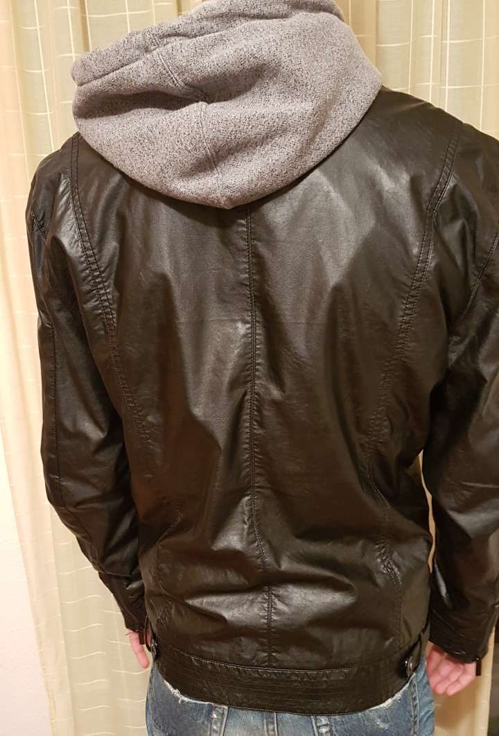 Imagen producto Cazadora chaqueta Biker Chico Talla M 3