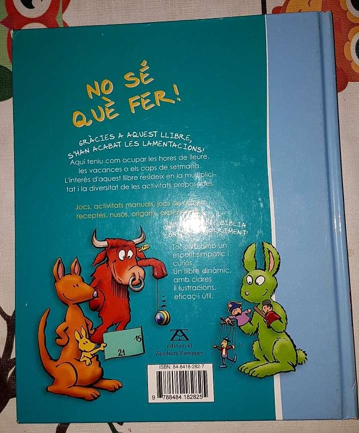 Imagen producto Libro infantil No se què fer 3