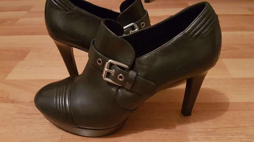 Imagen zapatos mujer plataforma tacón altos Talla 40