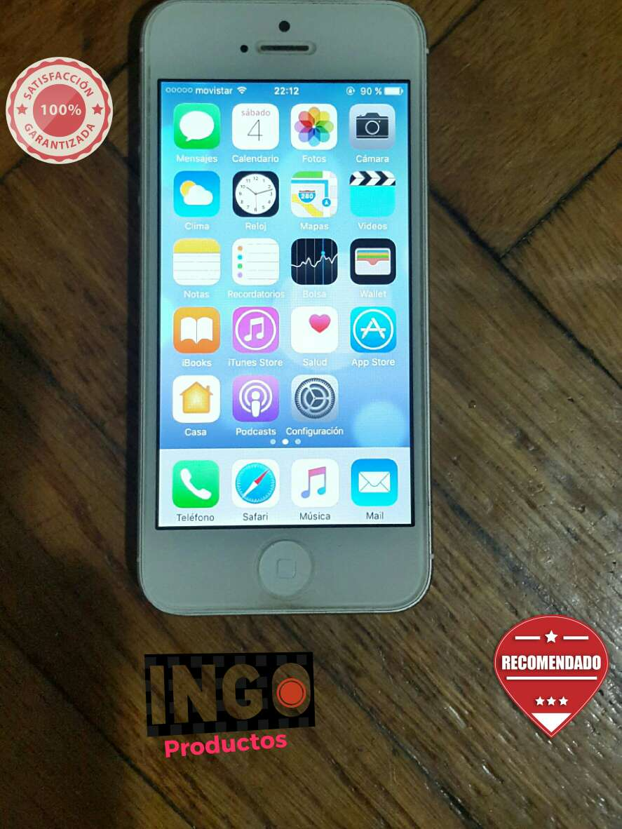 Imagen iphone 5 SE