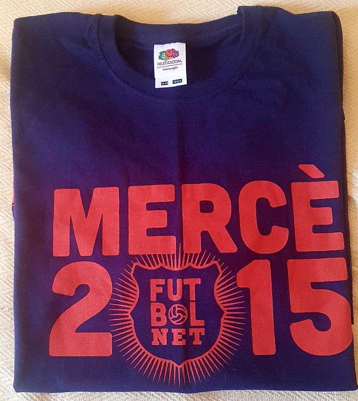 Imagen producto Camiseta Unisex Fútbol Net Talla M 40-42 4