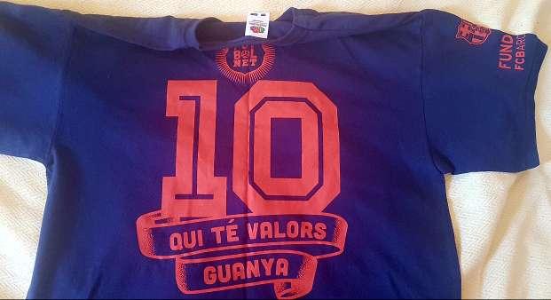 Imagen Camiseta Unisex Fútbol Net Talla M 40-42