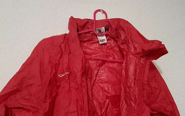 Imagen producto Riñonera mochila chaqueta chubasquero impermeable XL 2