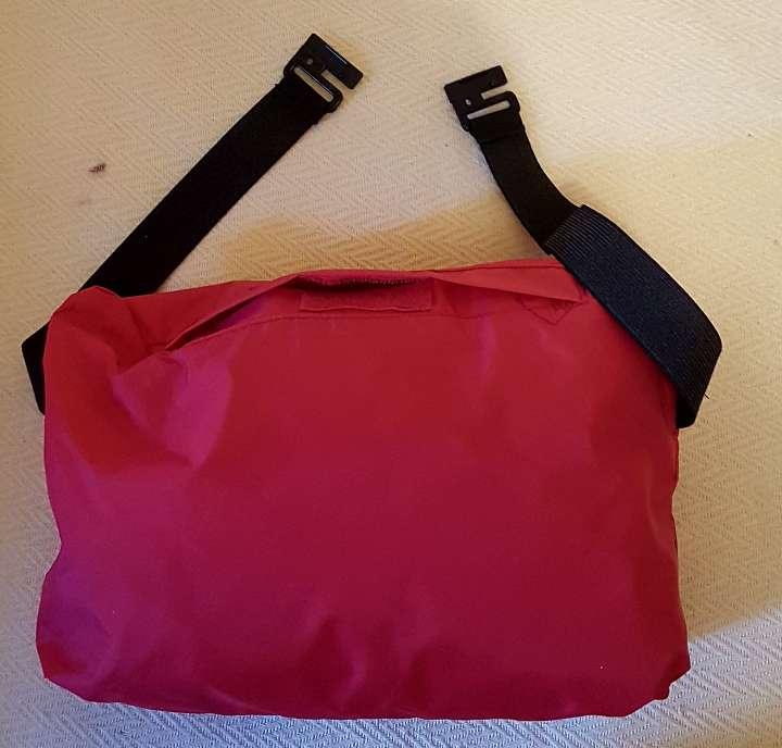 Imagen producto Riñonera mochila chaqueta chubasquero impermeable XL 3