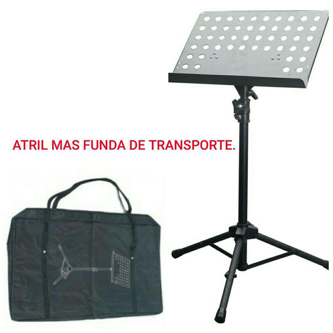 Imagen Soporte atril con bolsa transporte nuevo.