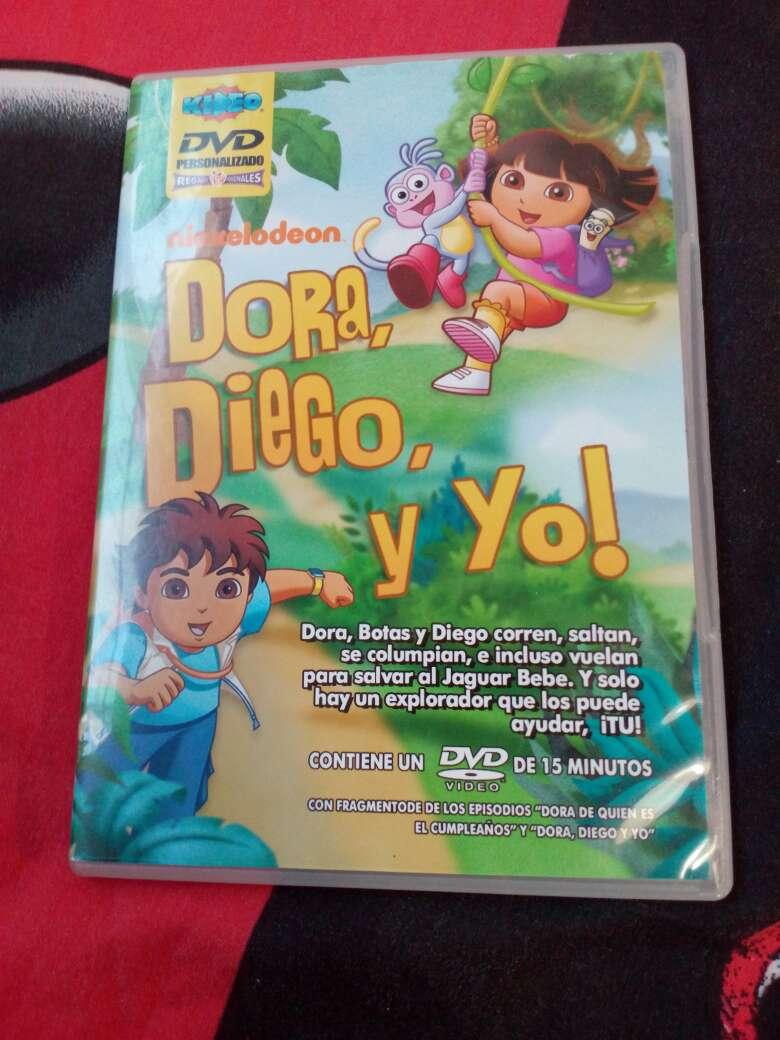 Imagen DVD Diego, Dora y yo