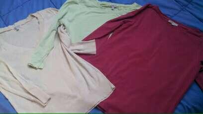 Imagen Lote 3 camisetas básicas de Mássimo Dutti