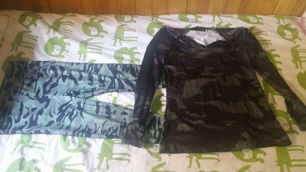 Imagen Camiseta y leggins