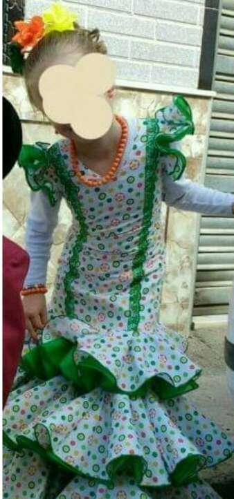 Imagen traje de flamenca de 7/8 años
