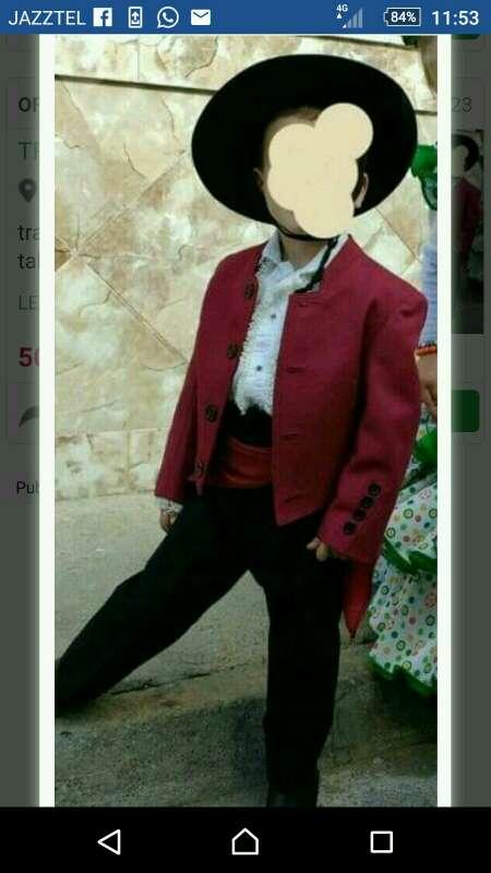 Imagen traje de flamenco solo lo uso dos veces esta casi nuevo