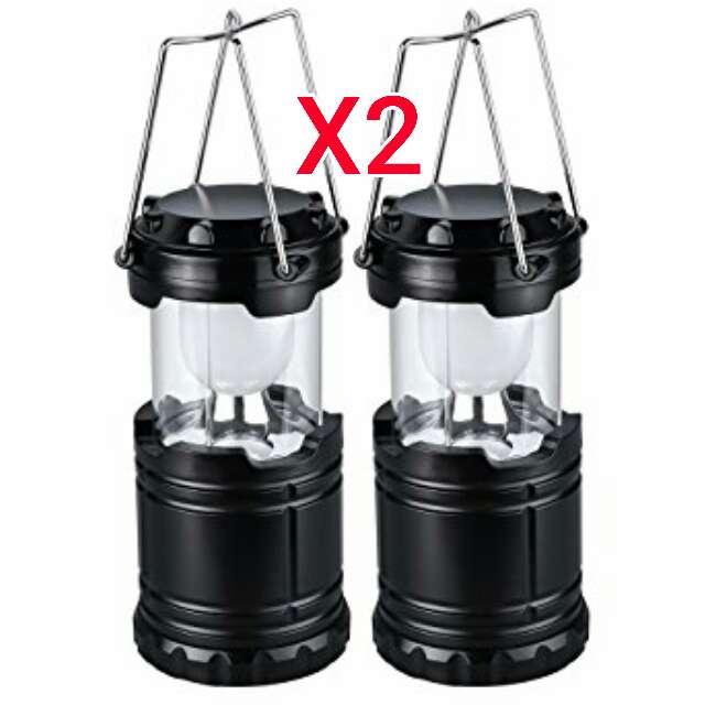 Imagen 2 lampara led con bateria recargable nuevas.