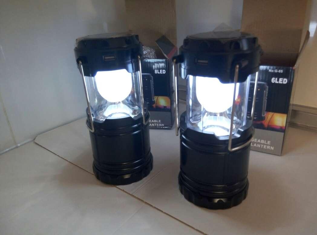 Imagen producto 2 lampara led con bateria recargable nuevas. 4