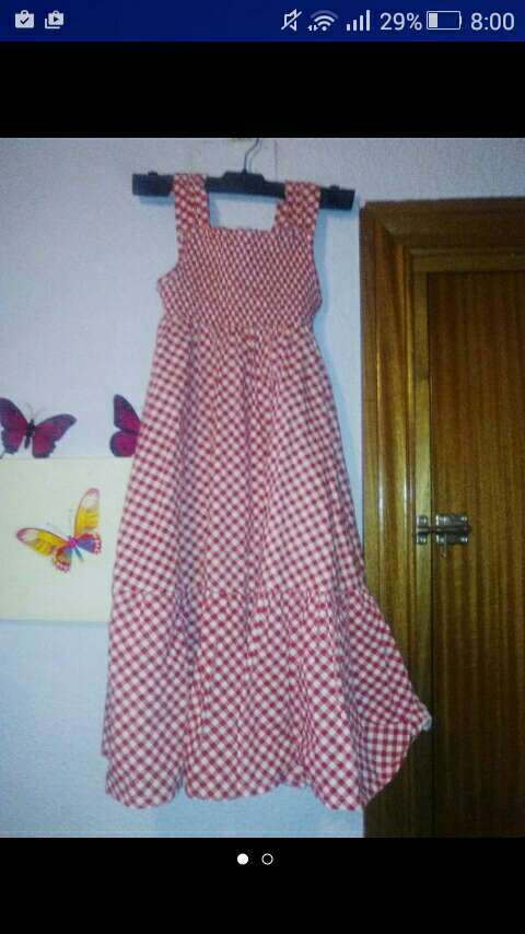 Imagen vestido niña verano