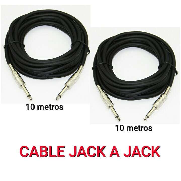 Imagen cables audio jack a jack nuevos