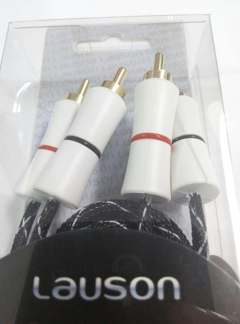 Imagen producto 2 cables rca a rca alta calidad nuevos. 3