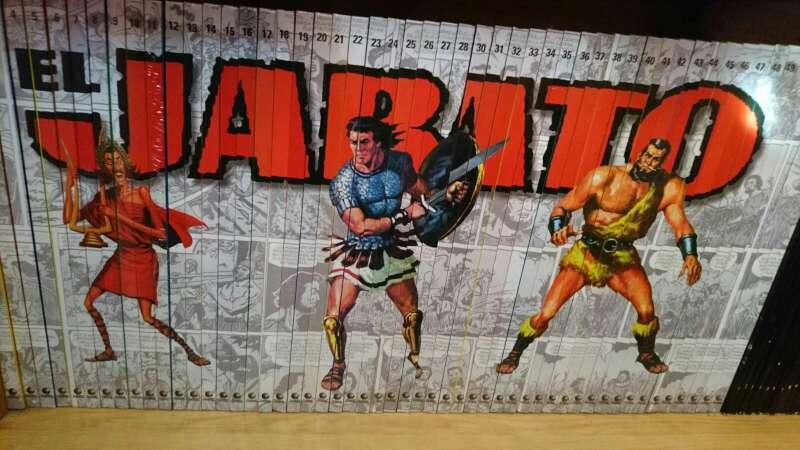 Imagen colección completa comic el jabato