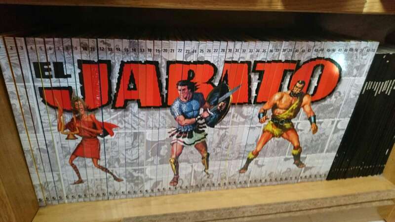 Imagen producto Colección completa comic el jabato 4