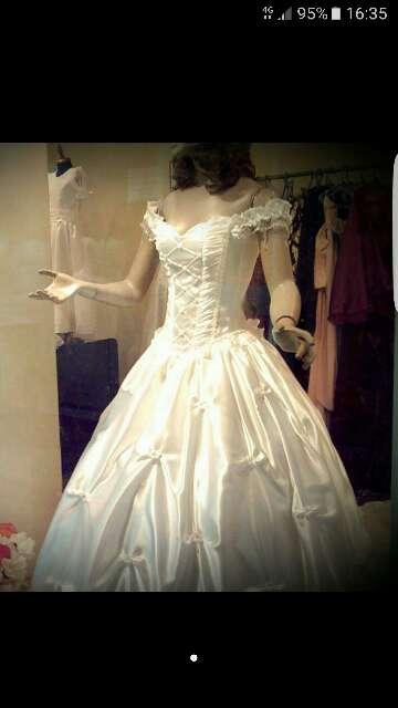 Imagen vestido de novia o de 15