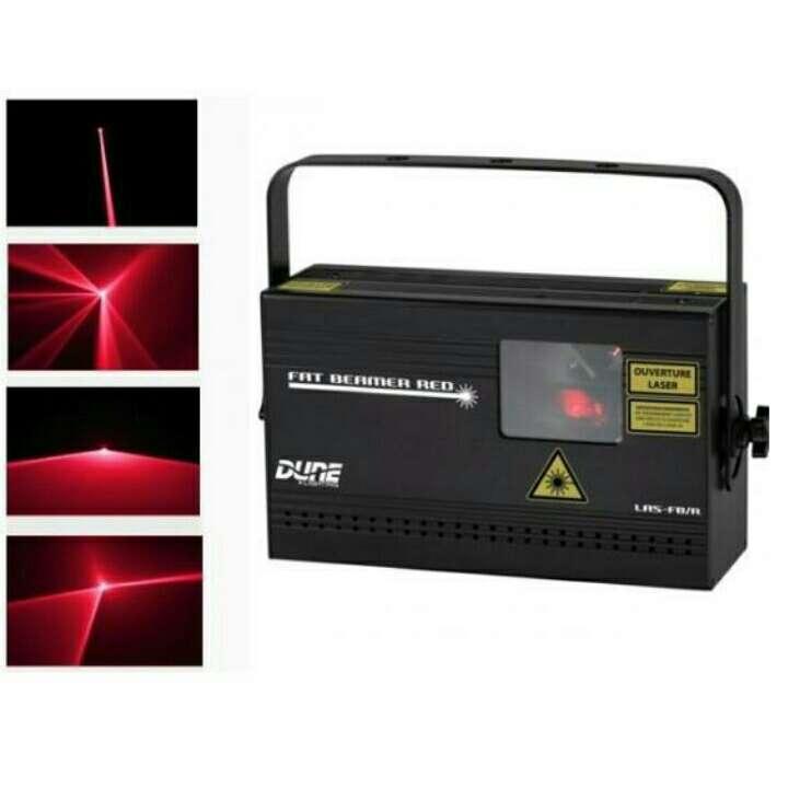 Imagen laser rojo dune dmx nuevo.