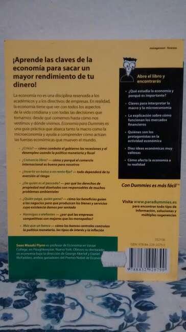 Imagen producto Libro Economía para dummies  2