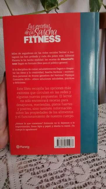 Imagen producto Libro Las recetas de Sascha Fitness  2