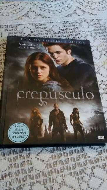 Imagen DVD Crepúsculo 2 discos