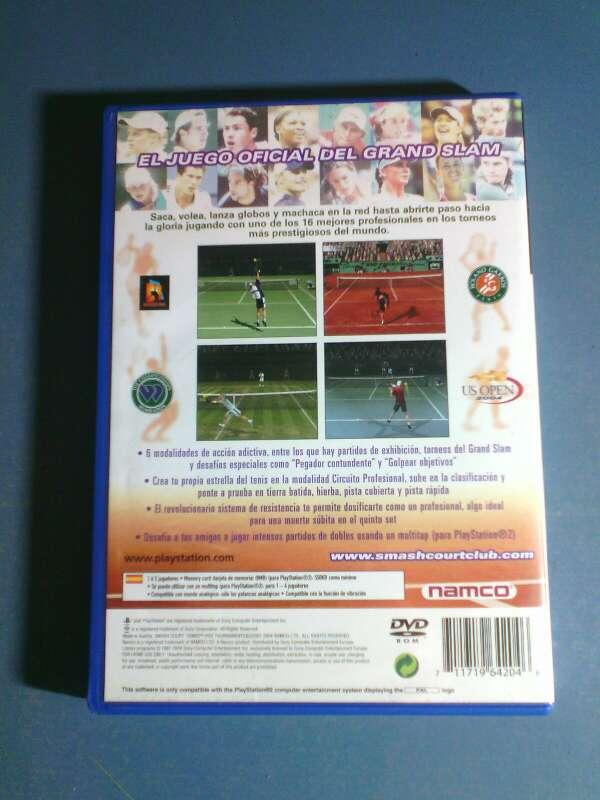 Imagen producto Video juego de tennis para playstation 2 3