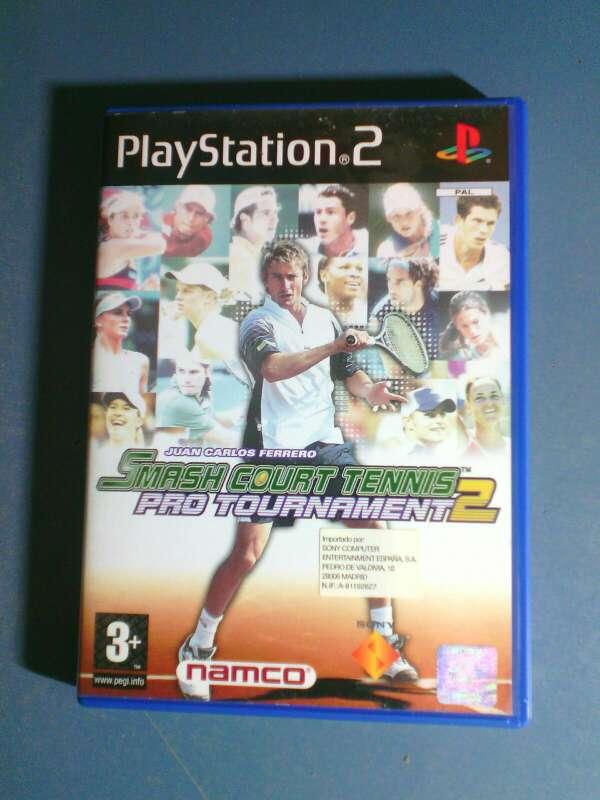 Imagen video juego de tennis para playstation 2