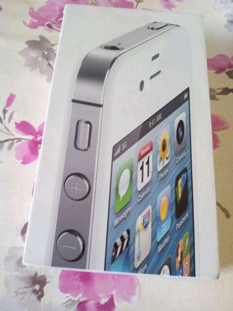 Imagen caja iphone 4s blanco