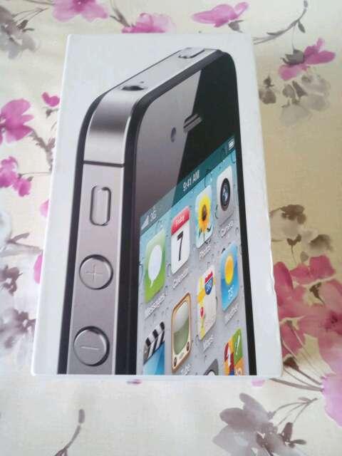Imagen caja iphone 4s negro