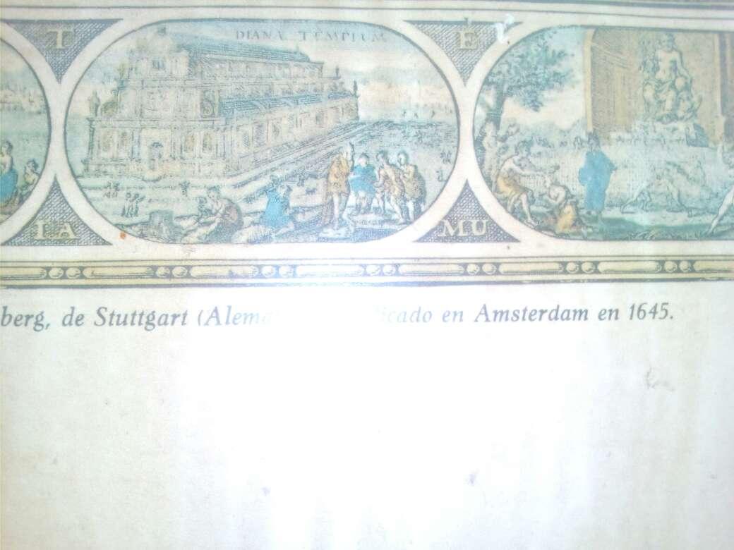 Imagen producto Cuadro de atlas de Amsterdam 1645 2
