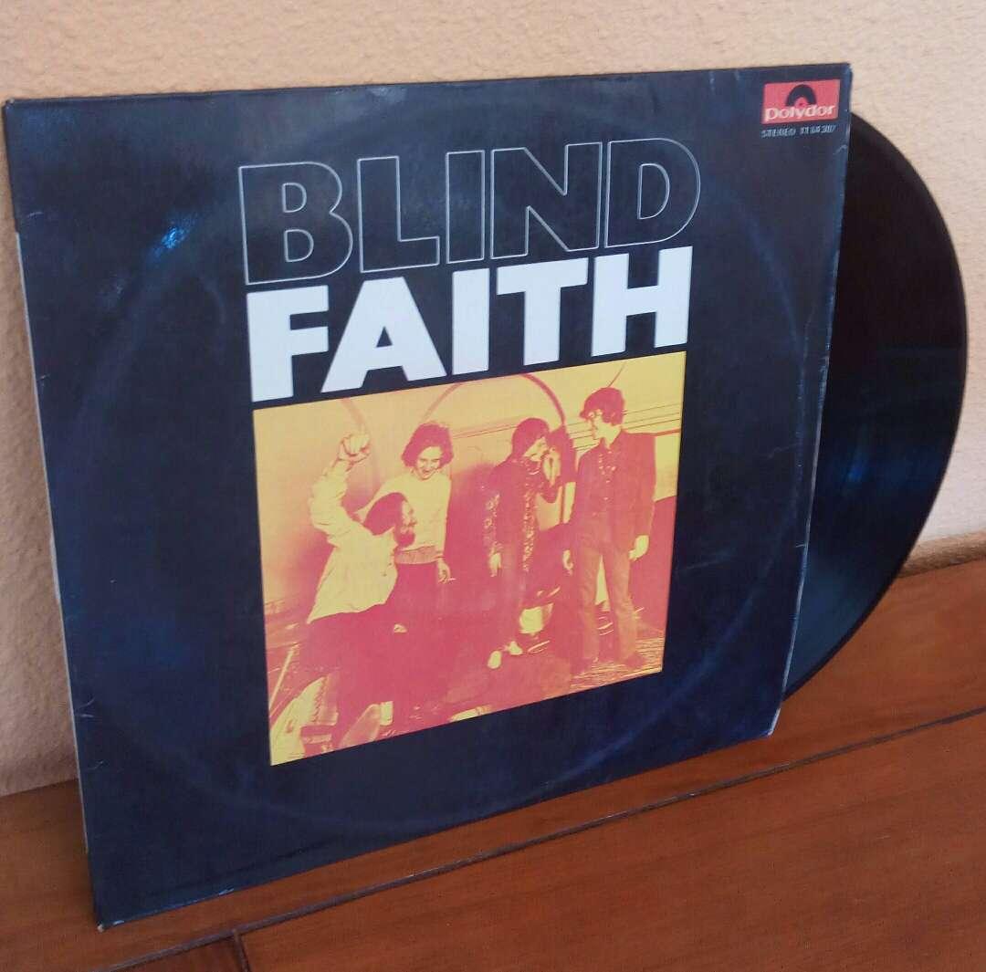Imagen Blind Faith LP Español 1969, polydor