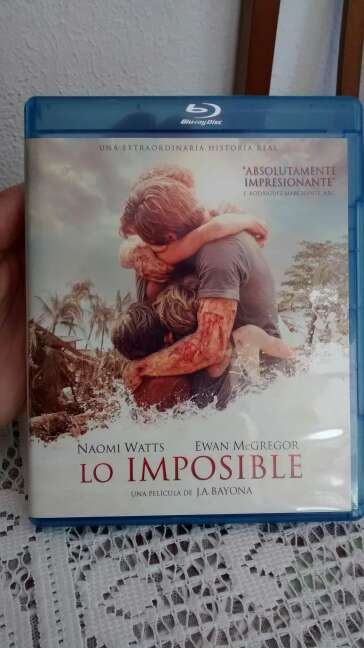 Imagen Blu Ray Lo Imposible