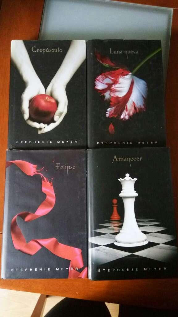 Imagen Libros de la Saga Crepúsculo