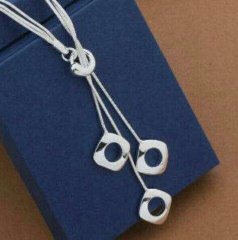 Imagen collar plata de ley nue