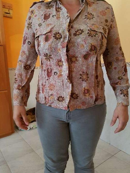 Imagen camisa blusa seda