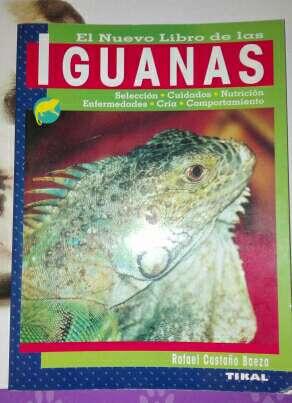 Imagen libro sobre iguanas