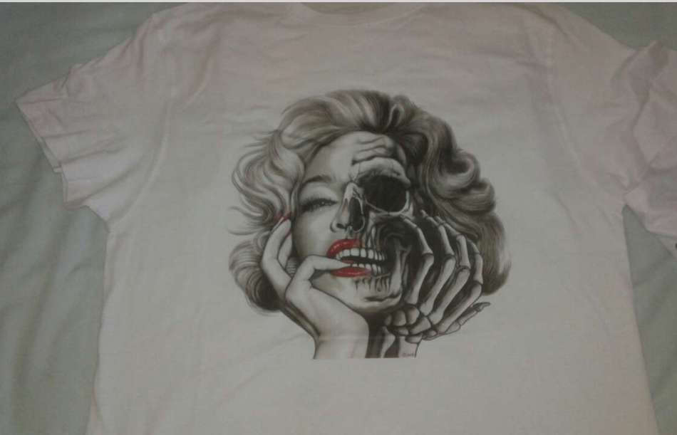 Imagen Camiseta Marilyn Monroe
