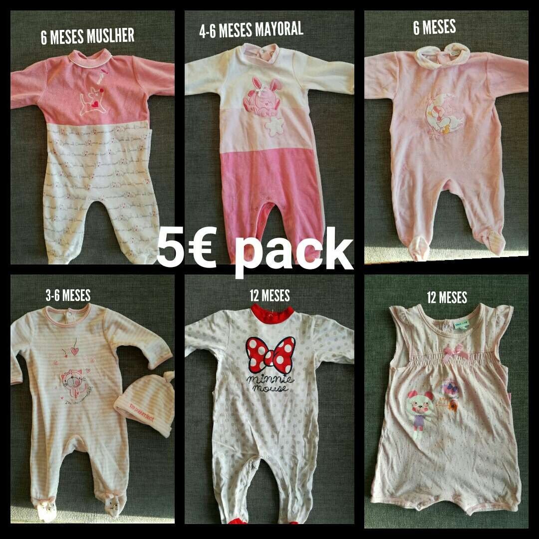 Imagen producto Pijamas 3 - 6 - 12 meses. Pack. 1