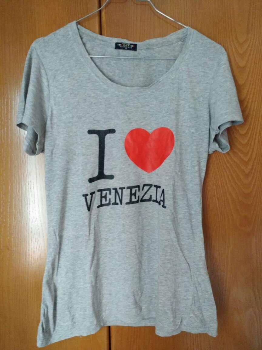 Imagen Camiseta de manga corta I love Venecia