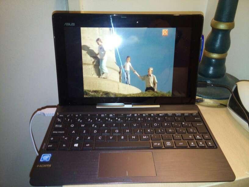 Imagen producto Portátil con windous 10 se puede llevar todo o modo tablet  4
