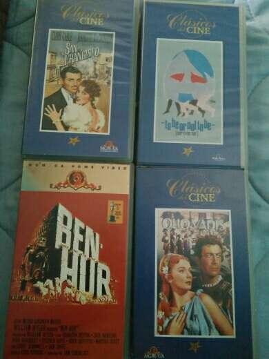 Imagen Lote cine clásico VHS