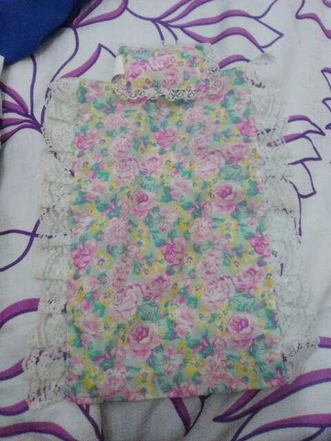 Imagen almohada y colcha para cama de barbie