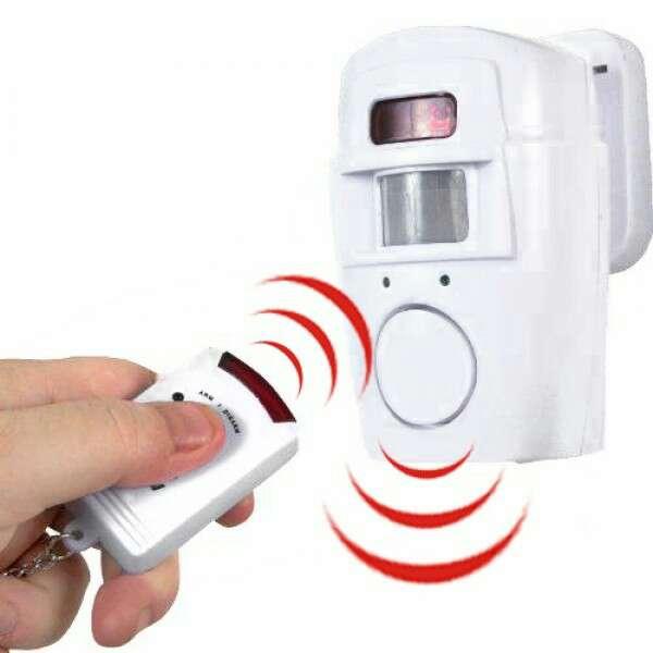 Imagen producto Alarma con sensor y 2 mandos nuevo. 2